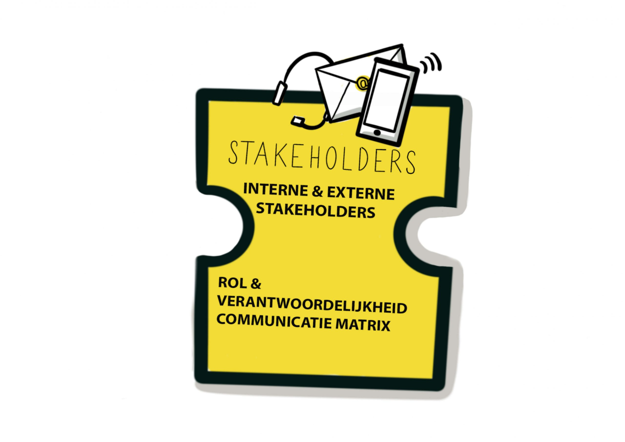 Puzzelstuk Landal Team ROS - Stakeholders