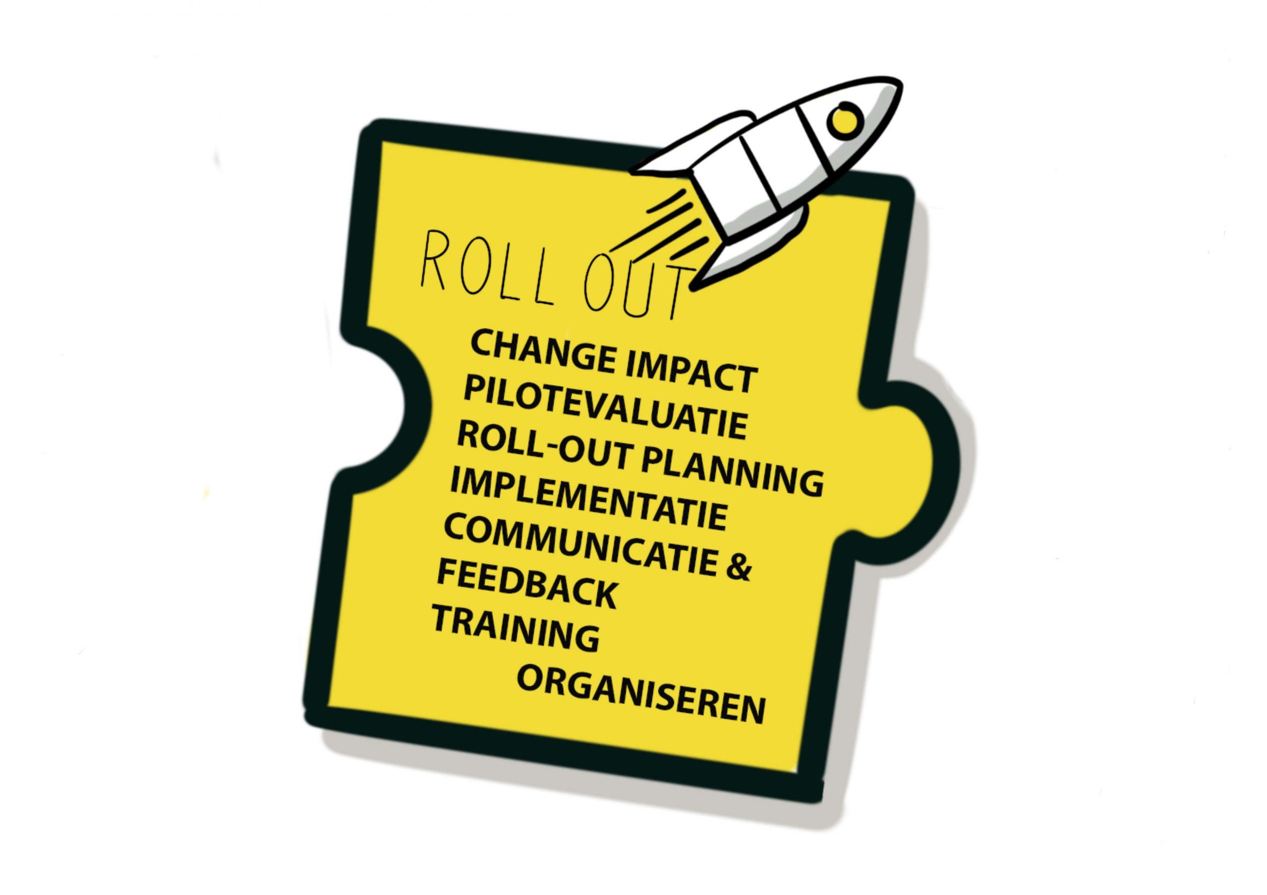 Puzzelstukje visual Landal GreenParks - Roll Out