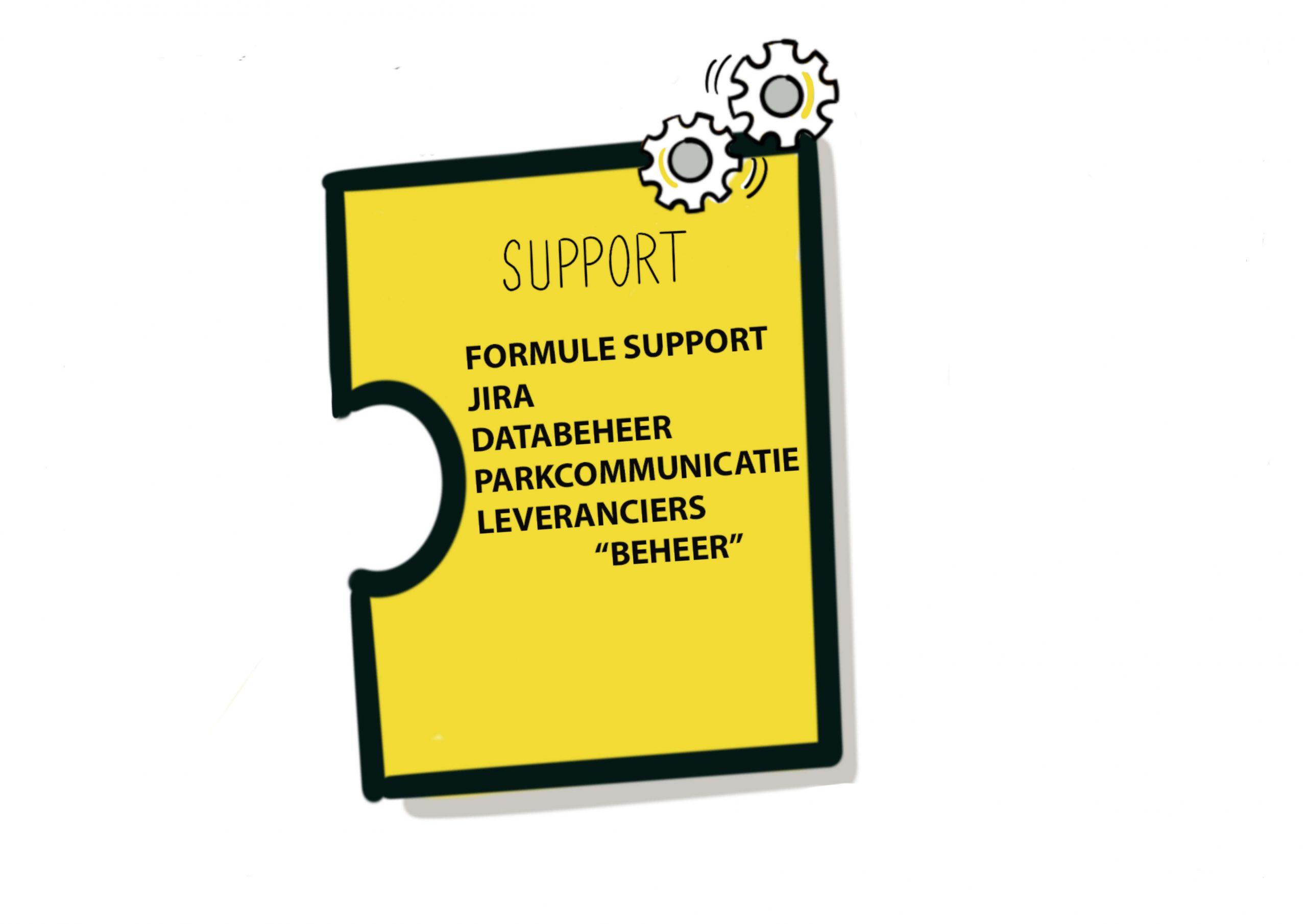 Puzzelstukje visual Landal GreenParks - Support